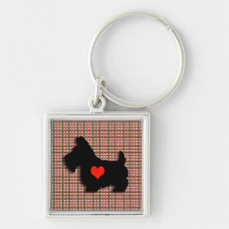 Porte-clés Porte - clé de coeur d'amour de Scottie