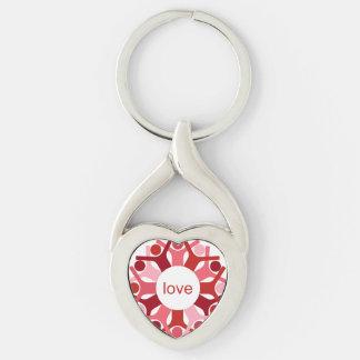 Porte-clés Porte - clé de coeur de graines