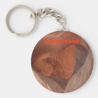 Porte-clés Porte - clé de coeur de la terre