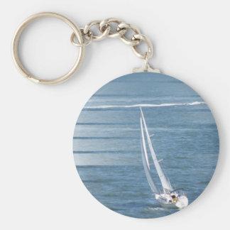 Porte-clés Porte - clé de conception de vent de navigation