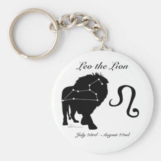 Porte-clés Porte - clé de constellation de Lion/zodiaque