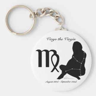 Porte-clés Porte - clé de constellation de Vierge/zodiaque