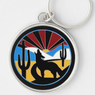Porte-clés Porte - clé de coucher du soleil de désert