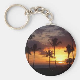 Porte-clés Porte - clé de coucher du soleil d'Hawaï