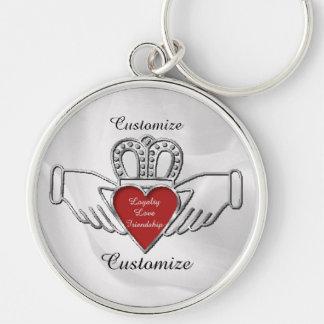 Porte-clés Porte - clé de coutume de Claddagh d'amitié