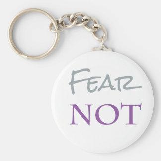Porte-clés Porte - clé de crainte pas