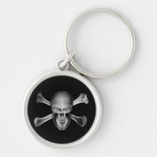 Porte-clés Porte - clé de crâne de rayon X