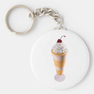 Porte-clés Porte - clé de crème glacée de gloire de