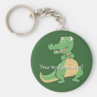 Porte-clés Porte - clé de crocodile de bande dessinée