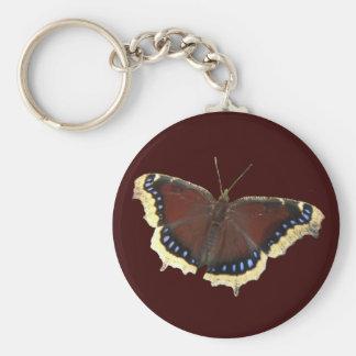Porte-clés Porte - clé de ~ de papillon de manteau de deuil
