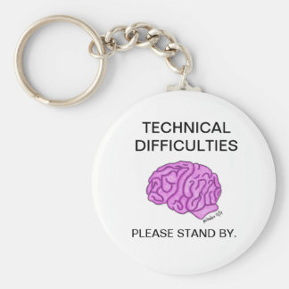 """Porte-clés Porte - clé """"de difficultés techniques"""""""