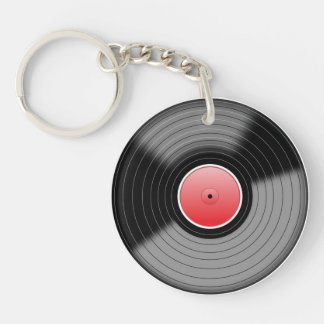 Porte-clés Porte - clé de disque vinyle