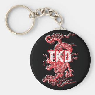 Porte-clés Porte - clé de dragon du Taekwondo