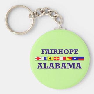 Porte-clés Porte - clé de drapeau de Fairhope