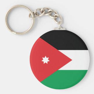 Porte-clés Porte - clé de drapeau de la Jordanie