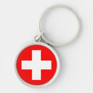 Porte-clés Porte - clé de drapeau de la Suisse