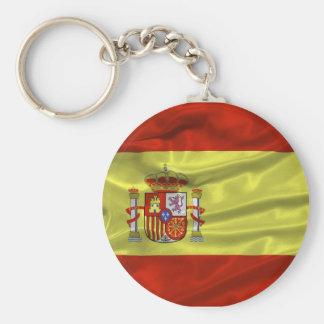 Porte-clés Porte - clé de drapeau de l'Espagne