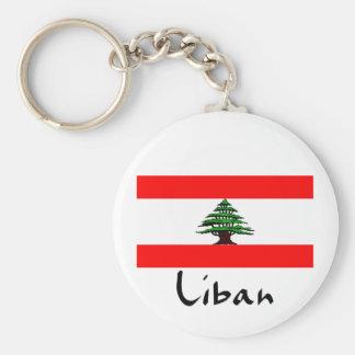 Porte-clés Porte - clé de drapeau de Liban Liban