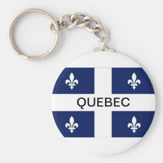 Porte-clés Porte - clé de drapeau de province du Québec