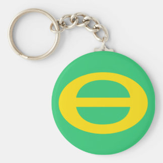 Porte-clés Porte - clé de drapeau d'écologie