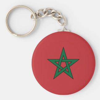 Porte-clés Porte - clé de drapeau du Maroc