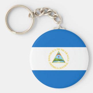 Porte-clés Porte - clé de drapeau du Nicaragua