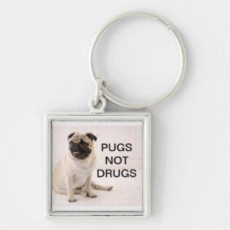Porte-clés Porte - clé de drogues de carlins pas