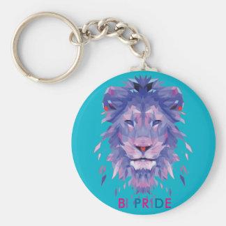 Porte-clés Porte - clé de fierté de bisexualité