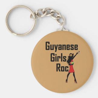 Porte-clés Porte - clé de fille de la Guyane