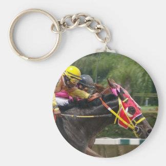 Porte-clés Porte - clé de finition de course de cheval