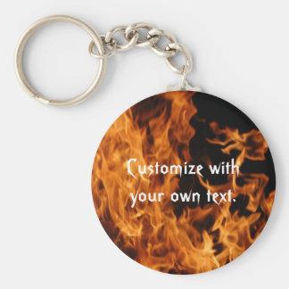 Porte-clés Porte - clé de flammes