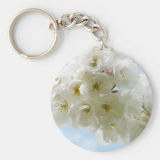 Porte-clés Porte - clé de fleurs de cerisier de ressort