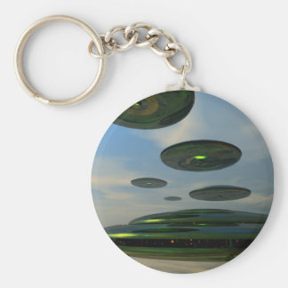 Porte-clés Porte - clé de flotte de soucoupe volante