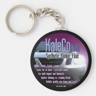 Porte-clés Porte - clé de fluide de feu clignotant