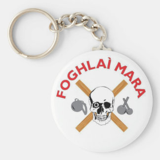 Porte-clés Porte - clé de Foghlai Mara, blanc