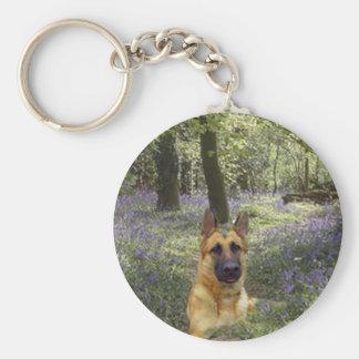 Porte-clés Porte - clé de forêt de berger allemand