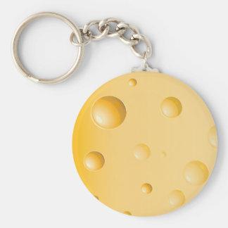 Porte-clés Porte - clé de fromage de gruyère