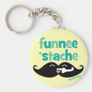 Porte-clés Porte - clé de Funnee Stache