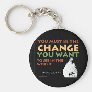 Porte-clés Porte - clé de Gandhi