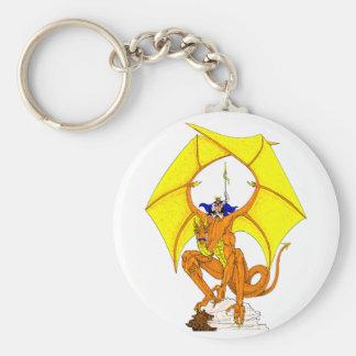 Porte-clés Porte - clé de garde de dragon