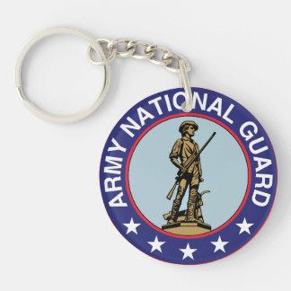 Porte-clés Porte - clé de garde nationale d'armée
