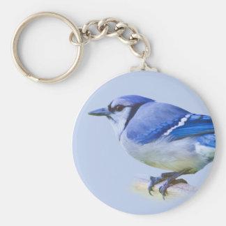Porte-clés porte - clé de geai bleu