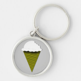 Porte-clés Porte - clé de glace à la vanille