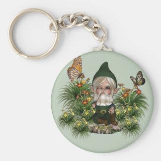Porte-clés porte - clé de gnome