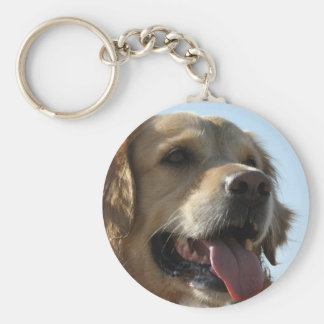 Porte-clés Porte - clé de golden retriever