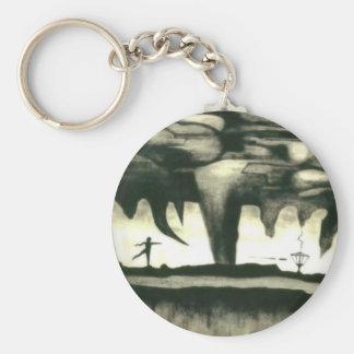 Porte-clés Porte - clé de golf de disque--Hypnotique et