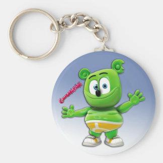 Porte-clés Porte - clé de Gummibär sur le bleu