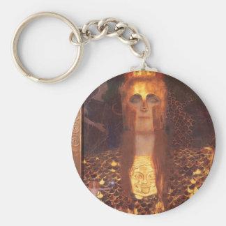 Porte-clés Porte - clé de Gustav Klimt Minerva Pallas Athéna