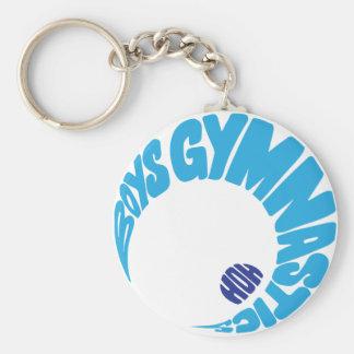 Porte-clés Porte - clé de gymnastique de garçons