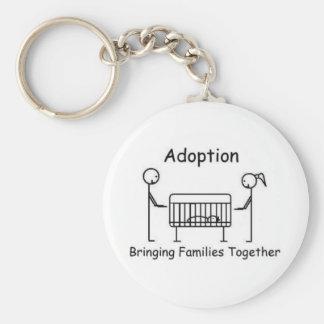 Porte-clés Porte - clé de huche d'adoption